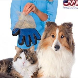 Accessories - Pet deshedder grooming right and left hand glove